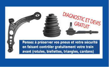 diagnostic et devis gratuit rotules biellettes cardans triangles